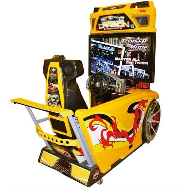 need for speed carbon video machine