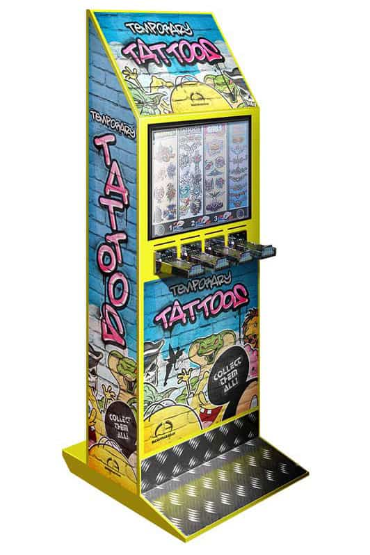 yellow tattoo machine